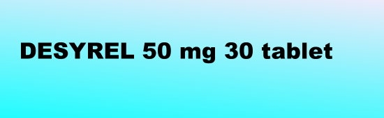 DESYREL 50 Mg 30 Tablet